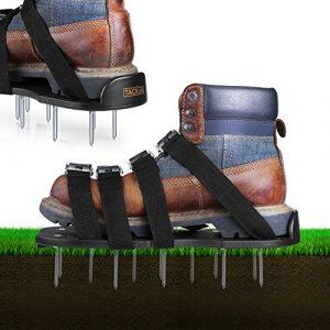 Zapatos jardín de césped